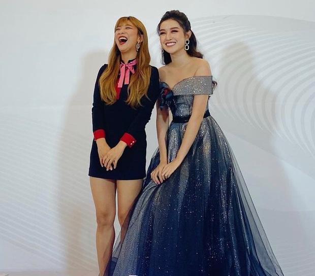Huyền My khoe ảnh selfie bên nữ idol Kpop Luna f(x), 2 mỹ nhân Việt - Hàn đọ sắc bất phân thắng bại chung khung hình - Ảnh 3.