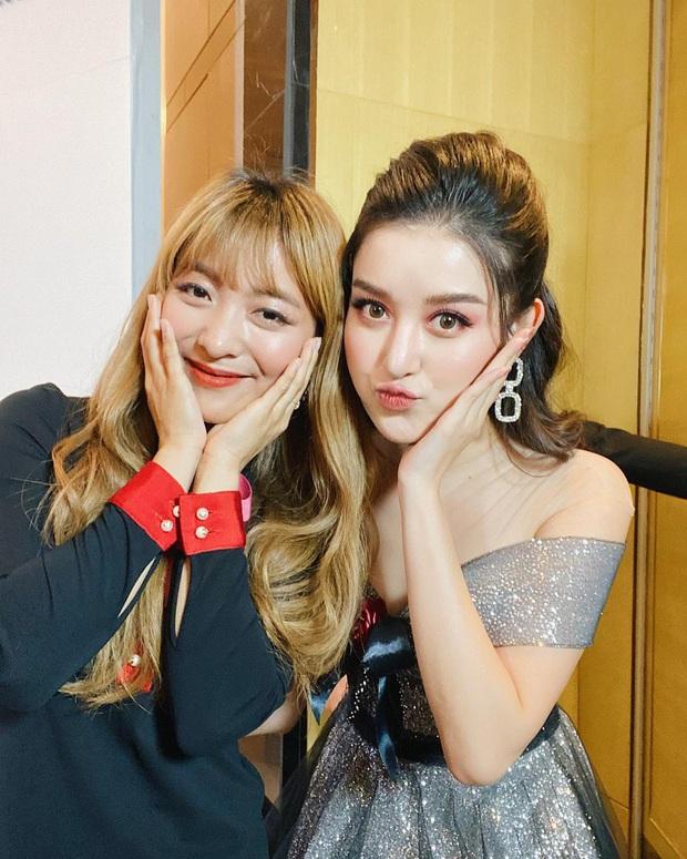 Huyền My khoe ảnh selfie bên nữ idol Kpop Luna f(x), 2 mỹ nhân Việt - Hàn đọ sắc bất phân thắng bại chung khung hình - Ảnh 2.