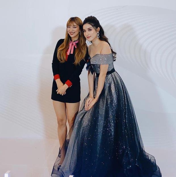 Huyền My khoe ảnh selfie bên nữ idol Kpop Luna f(x), 2 mỹ nhân Việt - Hàn đọ sắc bất phân thắng bại chung khung hình - Ảnh 4.