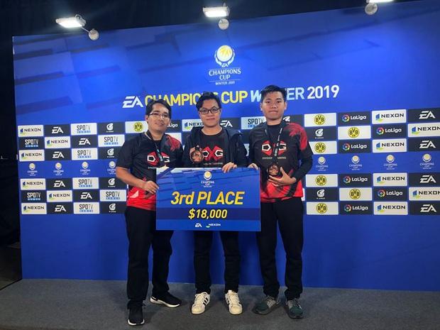 Thua Thái Lan, DivisionXGaming xếp thứ 3 thế giới bộ môn FIFA Online 4, rinh giải hơn 400 triệu đồng - Ảnh 2.