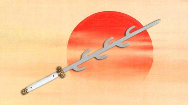 Giải mã bí ẩn ngàn năm về thanh kiếm 7 nhánh huyền thoại của Nhật Bản - Ảnh 1.