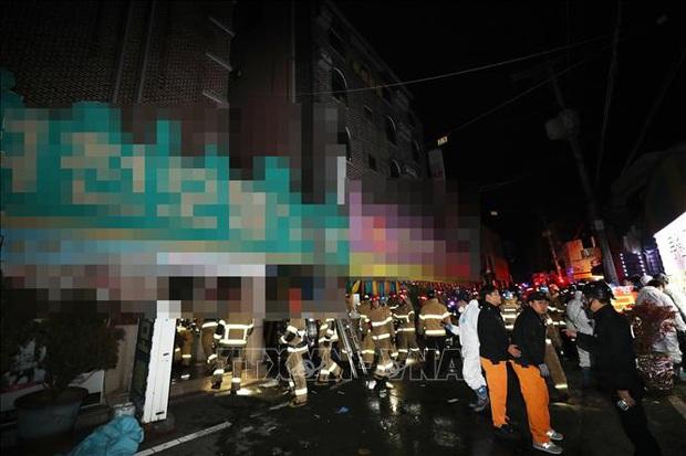 Ít nhất 2 người thiệt mạng, 31 người bị thương trong vụ phóng hỏa khách sạn  - Ảnh 1.