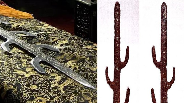 Giải mã bí ẩn ngàn năm về thanh kiếm 7 nhánh huyền thoại của Nhật Bản - Ảnh 3.