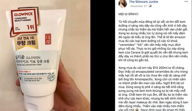 Review kem dưỡng của Illiyoon: siêu chiến binh cấp ẩm giá 300.000 đồng đang càn quét mọi shop online - Ảnh 3.