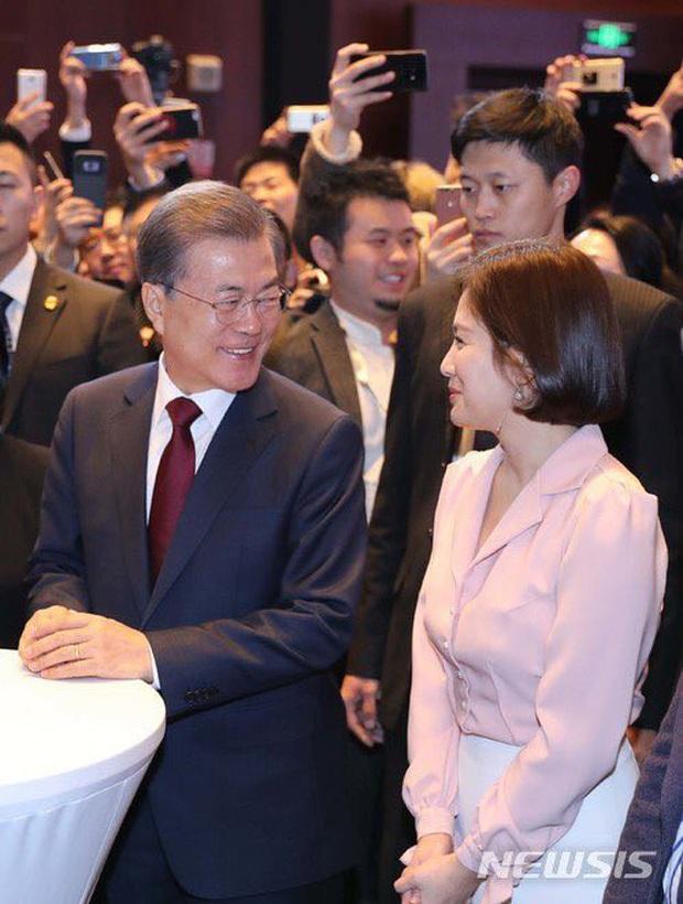 Dàn sao Hàn hiếm hoi dự sự kiện bên Tổng thống: Song Song và Yoona - Suzy mê hồn dù giản dị, BTS đúng là khác biệt! - Ảnh 24.