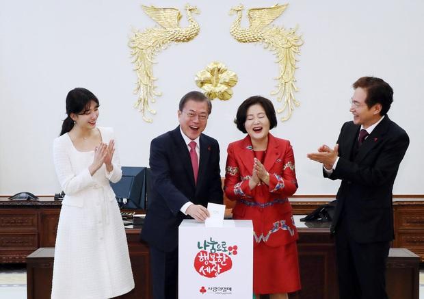 Dàn sao Hàn hiếm hoi dự sự kiện bên Tổng thống: Song Song và Yoona - Suzy mê hồn dù giản dị, BTS đúng là khác biệt! - Ảnh 19.