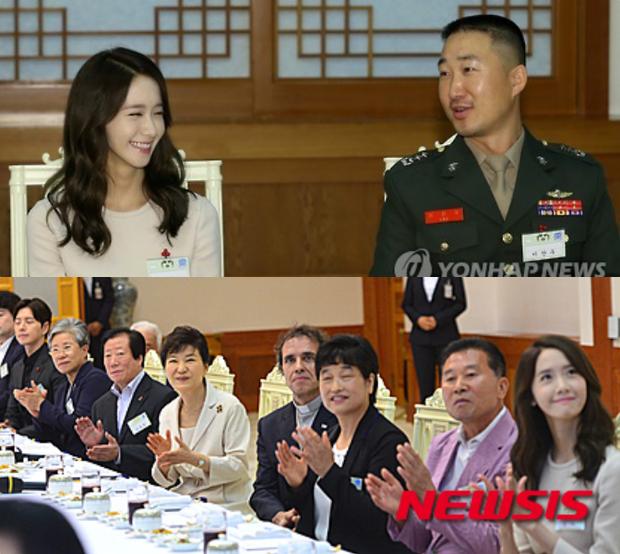 Dàn sao Hàn hiếm hoi dự sự kiện bên Tổng thống: Song Song và Yoona - Suzy mê hồn dù giản dị, BTS đúng là khác biệt! - Ảnh 13.