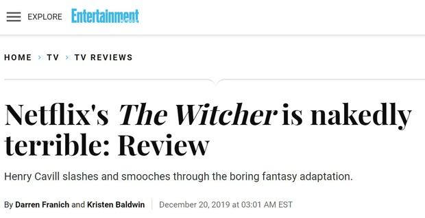 Bom tấn Netflix The Witcher bị chấm điểm thấp ngỡ ngàng, nhà sản xuất lên tiếng cà khịa giới phê bình không chịu xem cho hết - Ảnh 2.