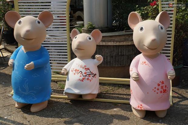 Ngắm đàn chuột chuẩn bị ra đường hoa Nguyễn Huệ biểu diễn mừng Tết Canh Tý 2020 - Ảnh 7.