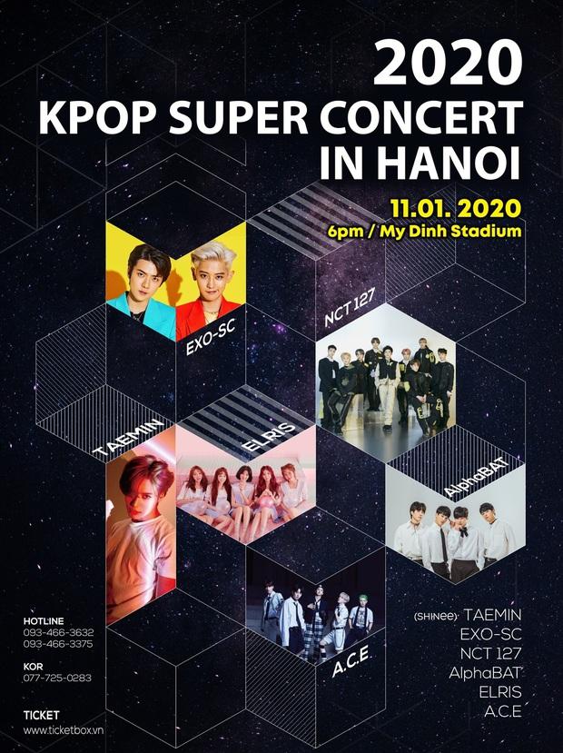 Đại diện BTC Kpop Super Concert có EXO-SC, Taemin (SHINee): Lùm xùm của AAA 2019 là do không có sự thấu hiểu giữa đơn vị Việt Nam và Hàn Quốc - Ảnh 8.