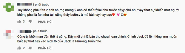 Phản ứng về MV mới chỉ là demo của Jack & K-ICM: Người chia sẻ nỗi buồn trục trặc, kẻ đồng loạt spam tẩy trắng? - Ảnh 4.