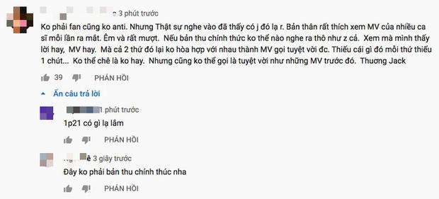 Phản ứng về MV mới chỉ là demo của Jack & K-ICM: Người chia sẻ nỗi buồn trục trặc, kẻ đồng loạt spam tẩy trắng? - Ảnh 7.