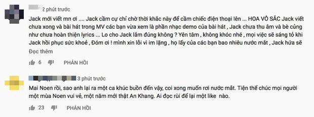 Phản ứng về MV mới chỉ là demo của Jack & K-ICM: Người chia sẻ nỗi buồn trục trặc, kẻ đồng loạt spam tẩy trắng? - Ảnh 5.