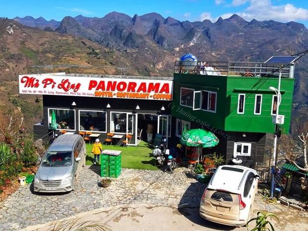Toà nhà 7 tầng xây dựng trái phép Mã Pì Lèng Panorama bất ngờ mở cửa đón khách dù bị đình chỉ hoạt động kinh doanh - Ảnh 2.