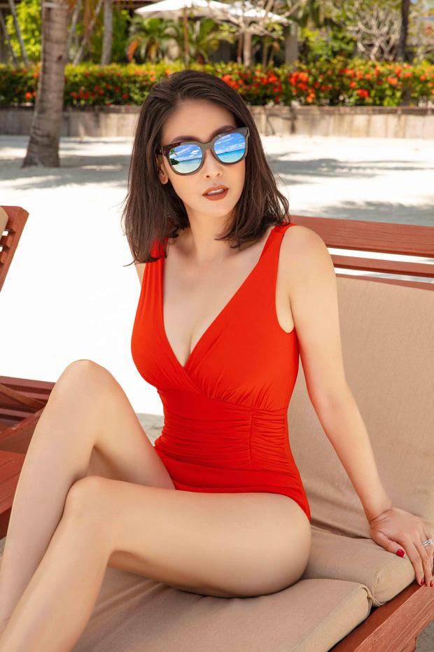 Đỉnh cao nhan sắc dàn Hoa hậu đăng quang cả thập kỷ: U40, U50 vẫn đẹp ngỡ ngàng, Mai Phương Thúy táo bạo nhất - Ảnh 4.