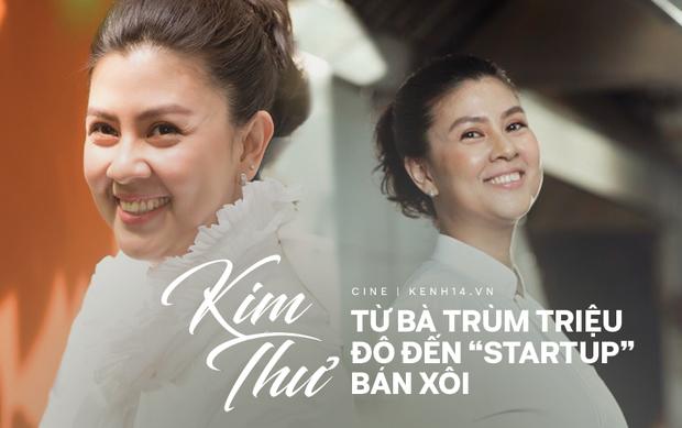 Kim Thư: Từ nàng thơ một thời khiến bao người mê đắm, bà trùm triệu đô đến startup bán xôi ở tuổi 40 - Ảnh 1.