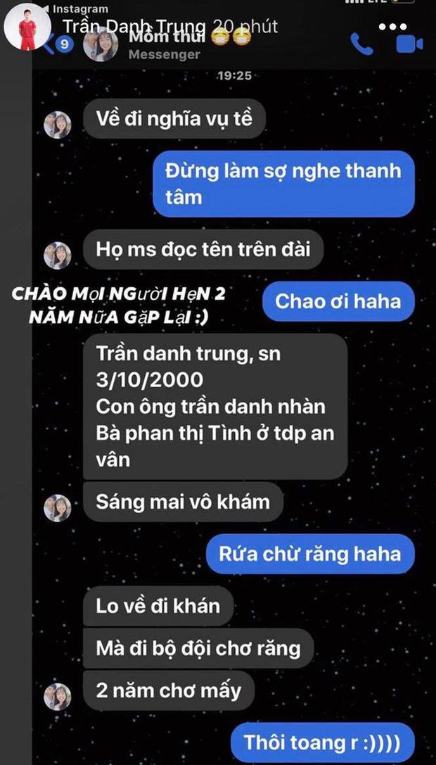 Đang tập trung đội tuyển, hot boy U23 Việt Nam bất ngờ nhận được lệnh gọi khám nghĩa vụ quân sự - Ảnh 1.