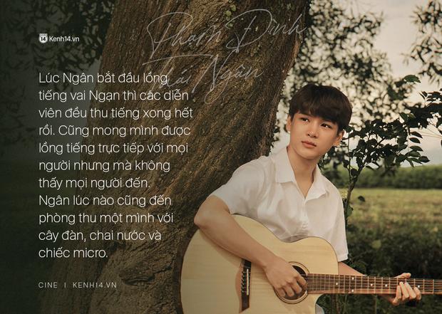 Phạm Đình Thái Ngân -  chàng trai lồng tiếng cho Ngạn: Người ta cho Mắt Biếc 1 điểm vì  phim không có giọng Phan Mạnh Quỳnh mà là giọng của tôi - Ảnh 7.