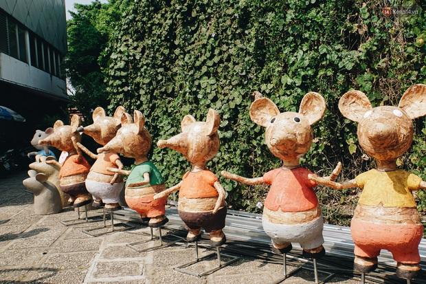 Ngắm đàn chuột chuẩn bị ra đường hoa Nguyễn Huệ biểu diễn mừng Tết Canh Tý 2020 - Ảnh 11.