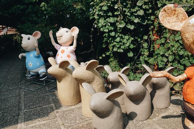 Ngắm đàn chuột chuẩn bị ra đường hoa Nguyễn Huệ biểu diễn mừng Tết Canh Tý 2020 - Ảnh 8.