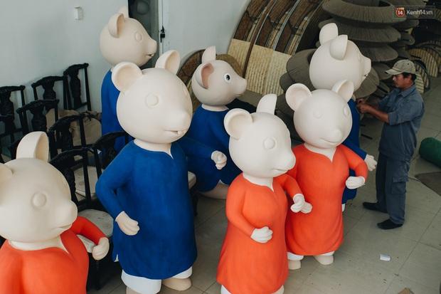 Ngắm đàn chuột chuẩn bị ra đường hoa Nguyễn Huệ biểu diễn mừng Tết Canh Tý 2020 - Ảnh 4.