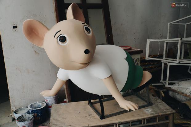 Ngắm đàn chuột chuẩn bị ra đường hoa Nguyễn Huệ biểu diễn mừng Tết Canh Tý 2020 - Ảnh 13.