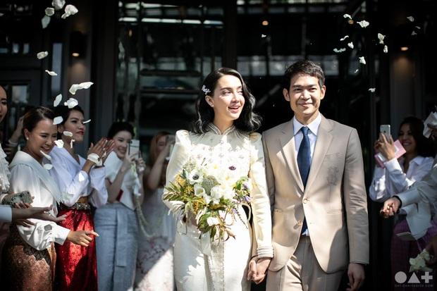 5 hôn lễ hot nhất showbiz Thái 2019: Ác nữ Tình yêu không có lỗi mê hồn, đám cưới sao đồng tính Chiếc lá bay gây sốt - Ảnh 3.