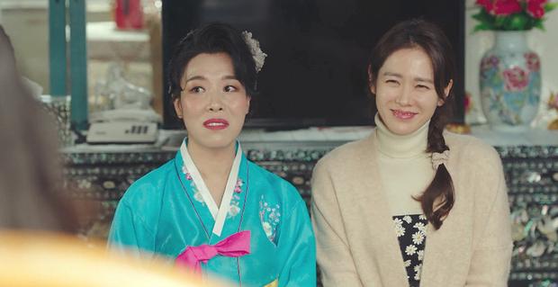 Chết cười với Son Ye Jin đi nịnh nọt mama tổng quản, kiếm mối cho Hyun Bin thăng chức ở Tình Yêu Hạ Cánh - Ảnh 3.