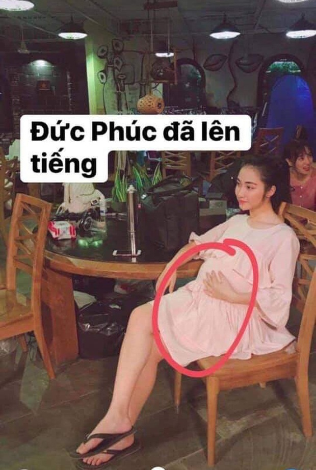 HOT: Dân mạng nháo nhào với hình ảnh Hòa Minzy ôm bụng bầu sau loạt nghi vấn đã sinh con đầu lòng - Ảnh 1.