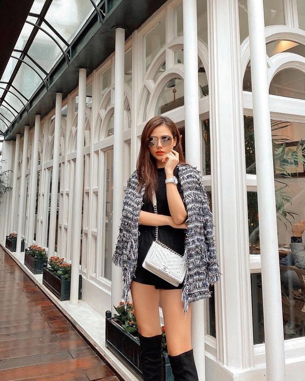 Street style sao Việt: Huyền Lizzie - Sĩ Thanh dẫn đầu bảng nhờ combo crop top - jeans xanh vừa cá tính lại hết sức sexy - Ảnh 11.