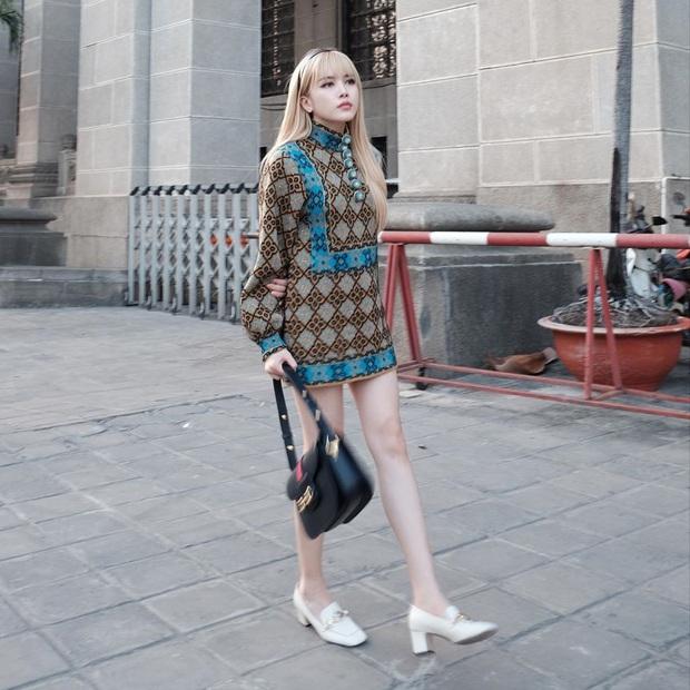 Street style sao Việt: Huyền Lizzie - Sĩ Thanh dẫn đầu bảng nhờ combo crop top - jeans xanh vừa cá tính lại hết sức sexy - Ảnh 9.