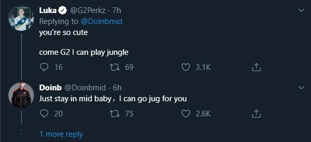 DoinB và Perkz đua nhau thả thính công khai, fan liên tục gọi hồn Jankos trói Perkz lại ngay kẻo mất người - Ảnh 2.
