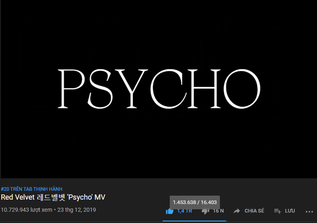 Red Velvet đạt đẳng cấp thế giới trước Destinys Child và The Pussycat Dolls sau 24 giờ tung Psycho, tạo kỉ lục YouTube 2019 cho SM - Ảnh 5.