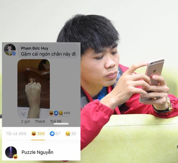 Noel của người hùng U22 Việt Nam: Cô đơn phát khóc mà còn bị hội bạn troll không trượt phát nào - Ảnh 2.