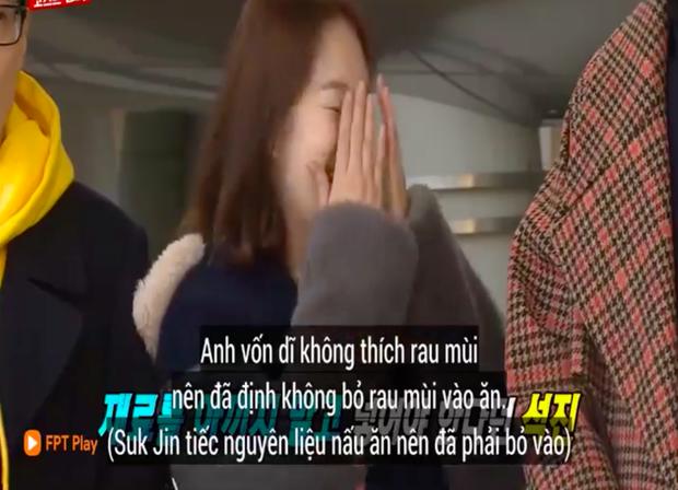 """Các thành viên Running Man Hàn """"lú lẫn"""" vì loại rau thơm khi ăn kèm với phở ở Việt Nam, chú Ji Suk Jin còn bị một vố """"quê độ"""" - Ảnh 4."""