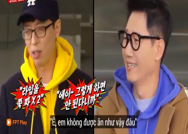 """Các thành viên Running Man Hàn """"lú lẫn"""" vì loại rau thơm khi ăn kèm với phở ở Việt Nam, chú Ji Suk Jin còn bị một vố """"quê độ"""" - Ảnh 8."""