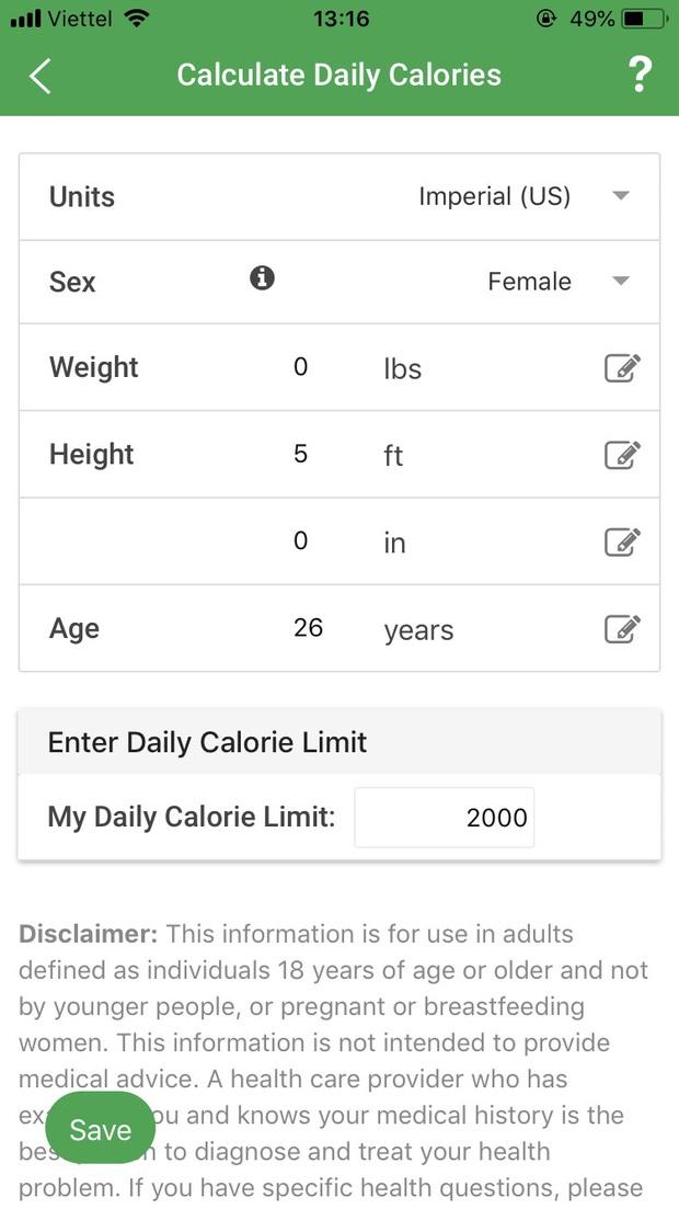 Review cực chi tiết 3 ứng dụng tính calo đang được nhiều bạn trẻ Việt tin dùng nhất cho công cuộc giảm cân giữ dáng - Ảnh 6.
