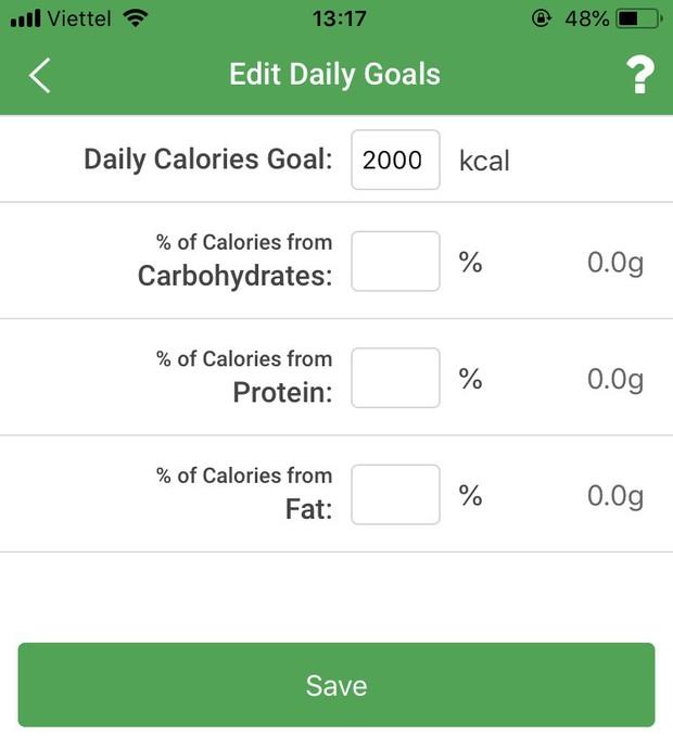 Review cực chi tiết 3 ứng dụng tính calo đang được nhiều bạn trẻ Việt tin dùng nhất cho công cuộc giảm cân giữ dáng - Ảnh 7.