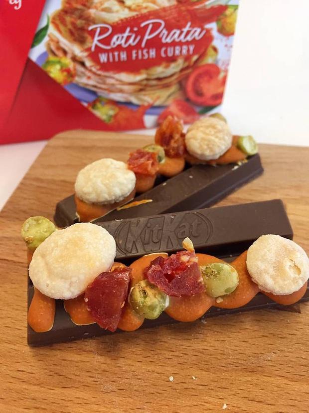 Hai phiên bản Kitkat dành riêng cho Giáng sinh 2019 khiến dân tình té ngửa bởi sự kết hợp cực mặn với...cà ri - Ảnh 2.