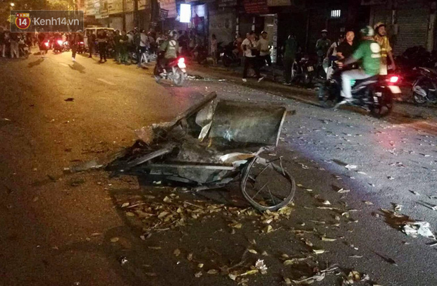 Nhìn lại những vụ TNGT kinh hoàng năm 2019: Nữ lao công chết thảm trên đường Láng Hạ, 15 người thương vong trên đường viếng nghĩa trang - Ảnh 16.