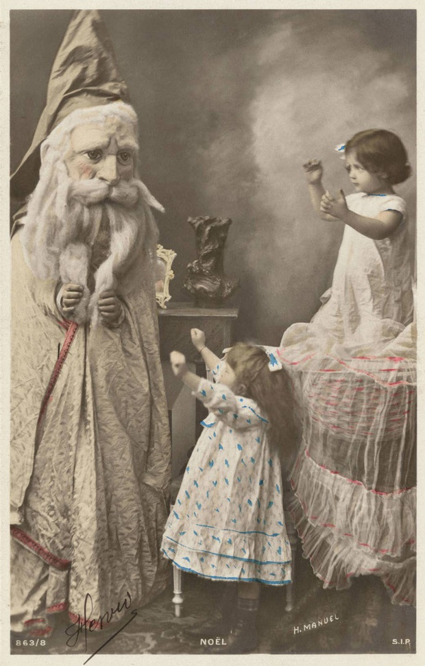 Những bức ảnh Giáng sinh độc nhất vô nhị có tuổi đời hơn 100 năm khiến bạn không khỏi mắt tròn mắt dẹt  - Ảnh 7.