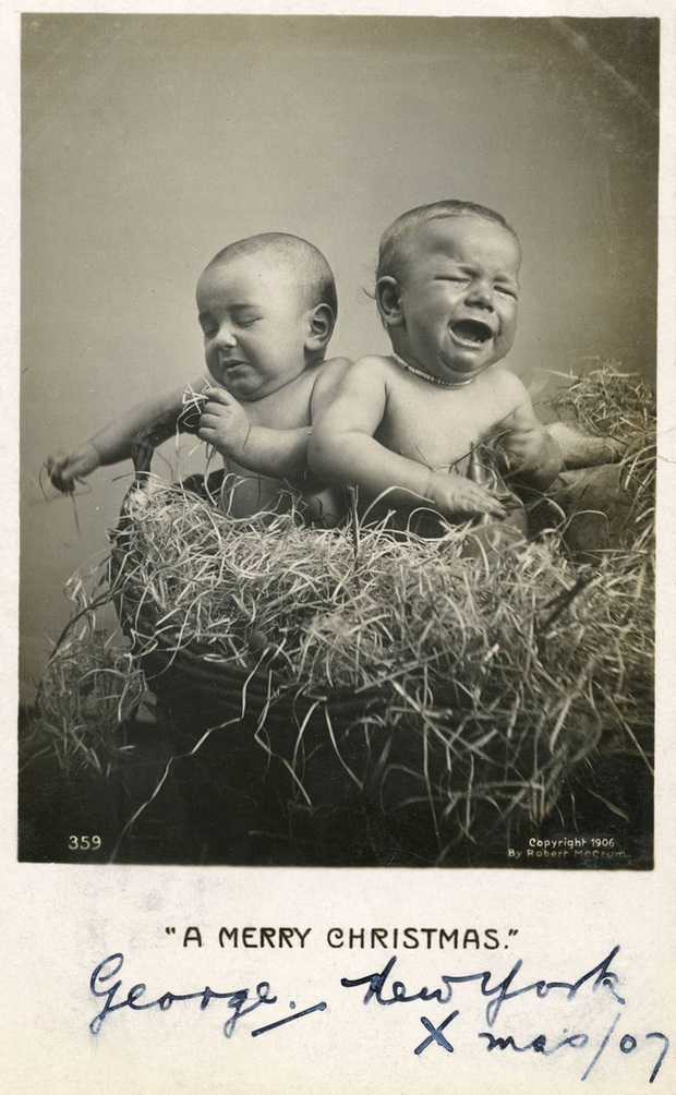 Những bức ảnh Giáng sinh độc nhất vô nhị có tuổi đời hơn 100 năm khiến bạn không khỏi mắt tròn mắt dẹt  - Ảnh 10.