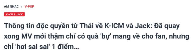 Ekip K-ICM thông báo MV nhạc demo  là sản phẩm kết hợp cuối cùng của Jack và K-ICM trong 2019, MV siêu phẩm quay tại Thái Lan chính thức... ra chuồng gà? - Ảnh 5.