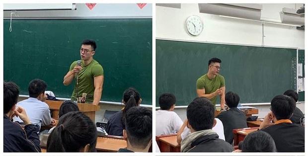 Thầy giáo siêu cấp điển trai gây sốt mạng xã hội khi đang dạy bỗng cởi phăng áo, khoe trọn thân hình 6 múi như tạc tượng - Ảnh 1.
