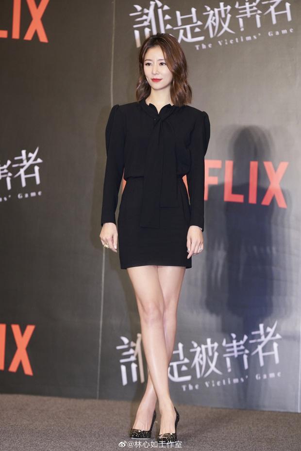 Lâm Tâm Như khoe nhan sắc hack tuổi nhưng mọi sự chú ý đổ dồn vào đôi chân siêu nuột nà đến bất ngờ của cô - Ảnh 4.