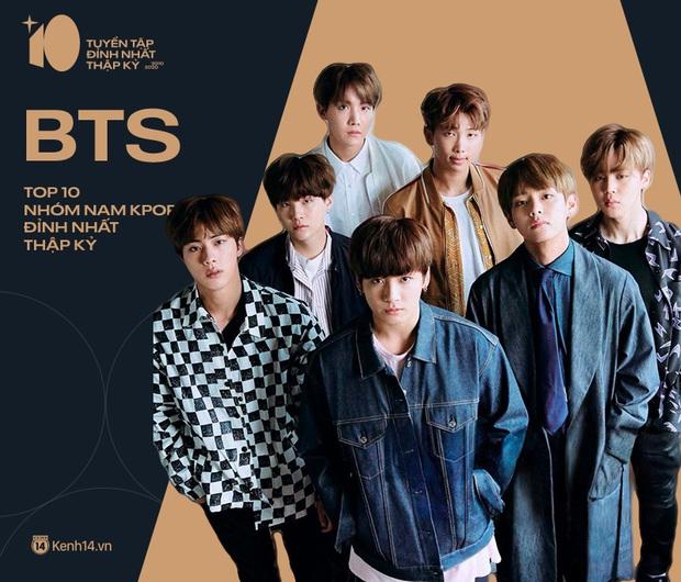 """Top 10 nhóm nam của thập kỉ: BTS, EXO và BIGBANG đối đầu để chiếm """"ngôi vương""""; các boygroup Gen 3 thắng thế - Ảnh 19."""