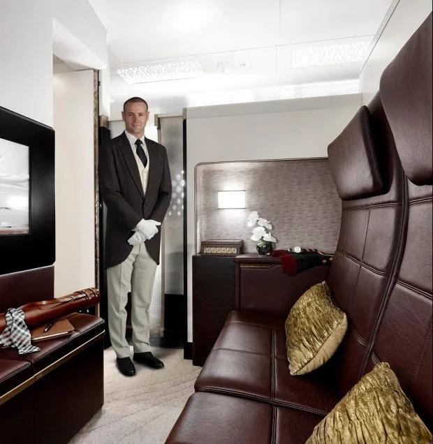 """Khoang máy bay có giá vé """"đắt nhất hành tinh"""" chỉ dành riêng cho giới siêu giàu và người nổi tiếng, xem ảnh chỉ biết choáng ngợp - Ảnh 7."""