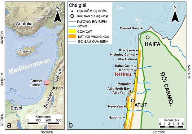 7.000 năm trước, người dân Israel xây bức tường đá dài trăm mét để chặn nước biển dâng nhưng rồi cũng thất bại - Ảnh 1.