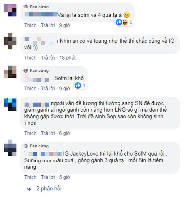 Rộ tin đồn JackeyLove không gia nhập Suning Gaming, fan Việt than thở SofM lại gánh 4 tạ nữa à - Ảnh 4.