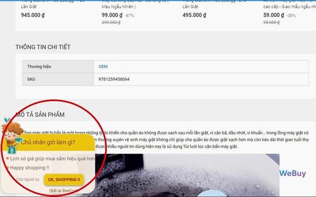 """Dùng thử """"trợ lý mua sắm"""" BeeCost: So sánh giá sản phẩm giữa các sàn TMĐT, tự tìm mã giảm giá - Ảnh 6."""
